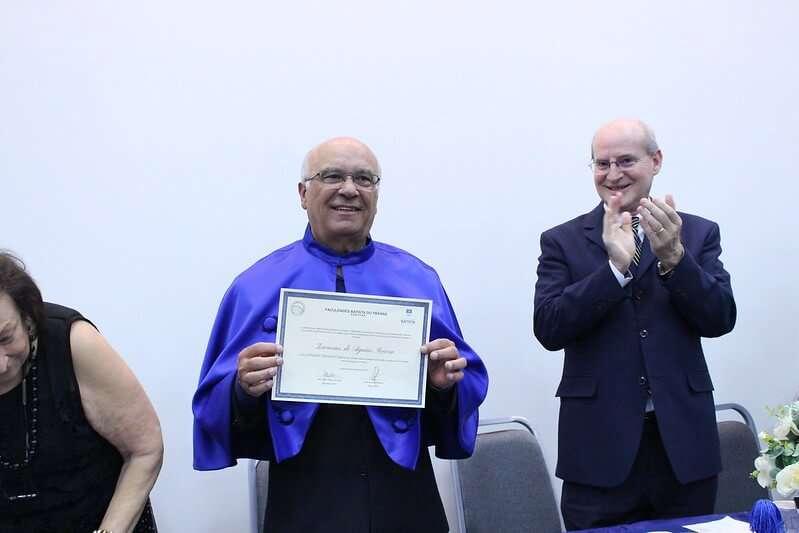Título de Doutor Honoris Causa ao Prof. Me. e Pr Zacarias de Aguiar Severa