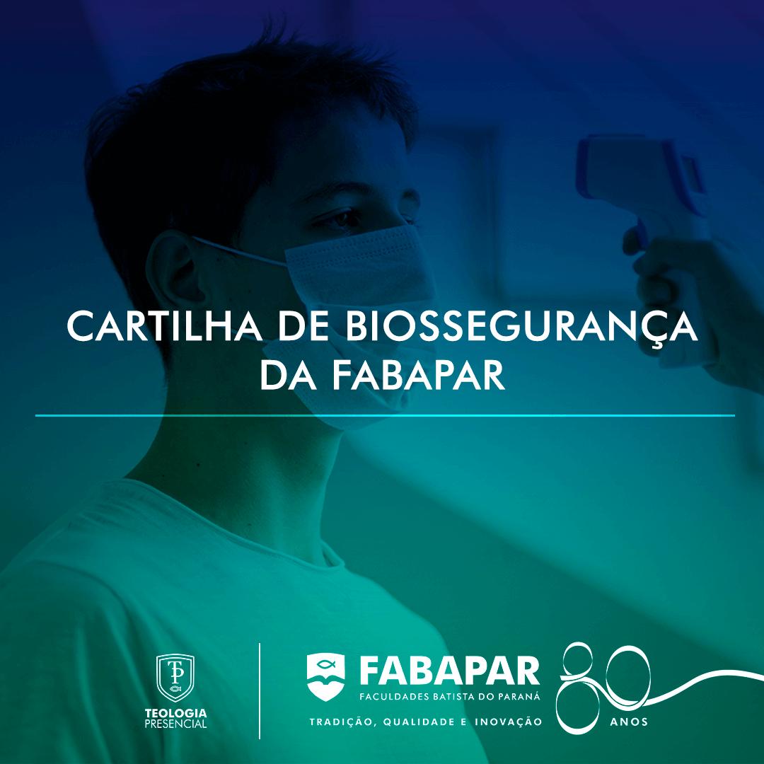 CARTILHA DE BIOSSEGURANÇA